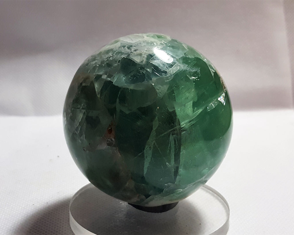 Fluorite Sphere from Mexico. Stock #6002sl