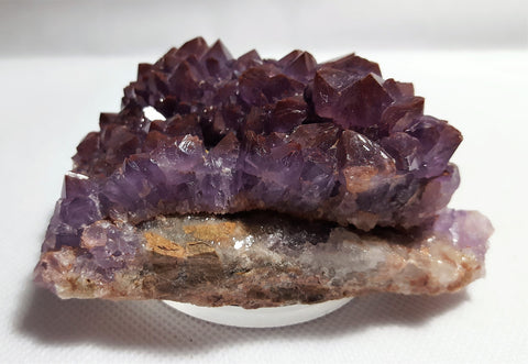 Amethyst with Hematite Inclusion, Thunder Bay, Ontario. Stock#18008sl