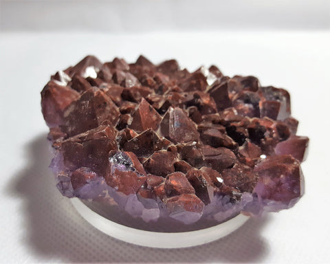 Amethyst with Hematite Inclusion, Thunder Bay, Ontario. Stock#18010sl