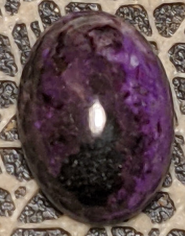 Sugilite Cabochon from Wessels Mine, South Africa 6 cts #37