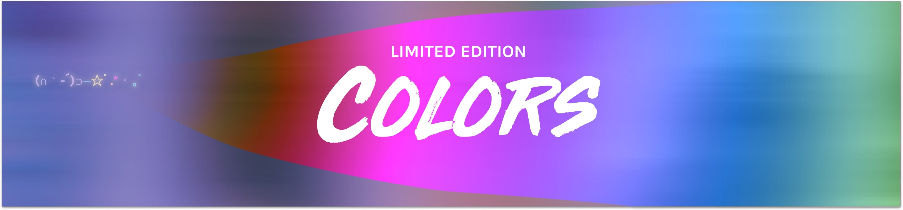 Limited Edition Color Magic Collection
