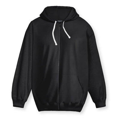 The Revolution Will Be Demonetized Zip-Up Hoodie