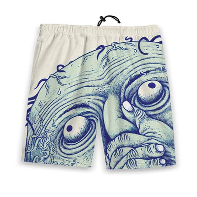 Breathing is a Hoax Men's Gym Shorts