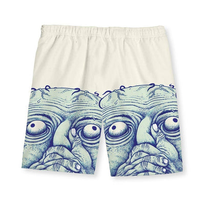 Breathing is a Hoax Men's Swim Shorts