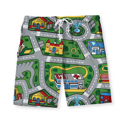 Car Carpet City Men's Swim Shorts