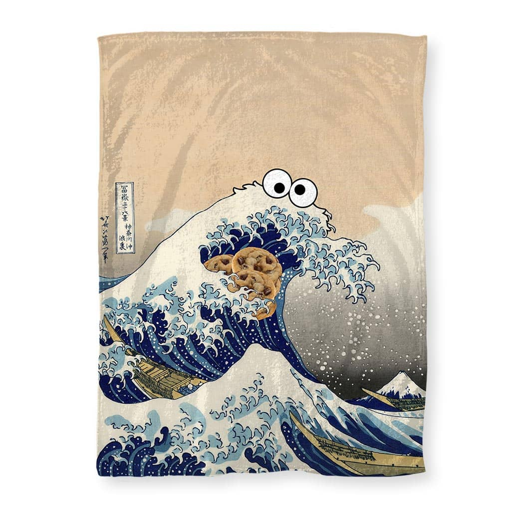 Cookie Wave Blankets