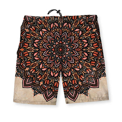 Mandala Men's Gym Shorts