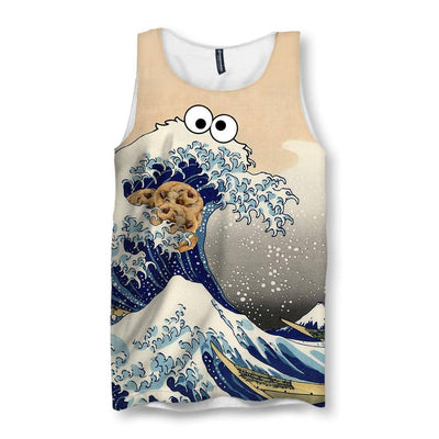 Cookie Wave Men's Tank