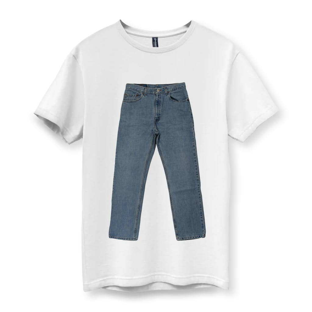 Pants Shirt Men's T-Shirt