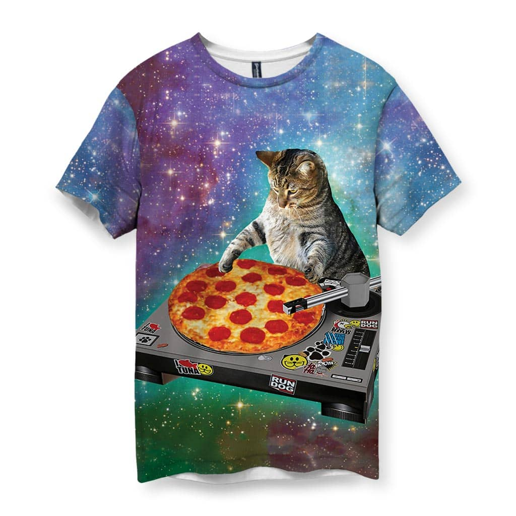 Indie Spacecat Men's T-Shirt