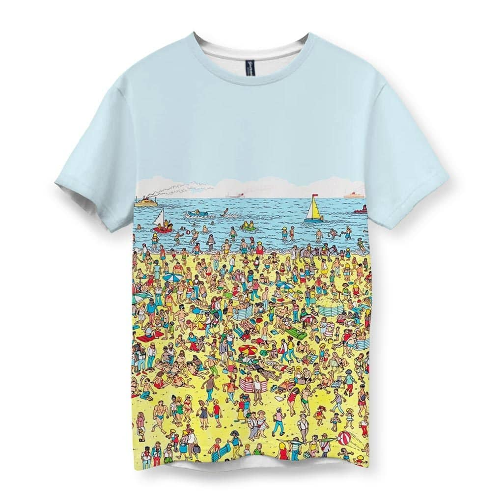 Beach Nostalgia Men's T-Shirt