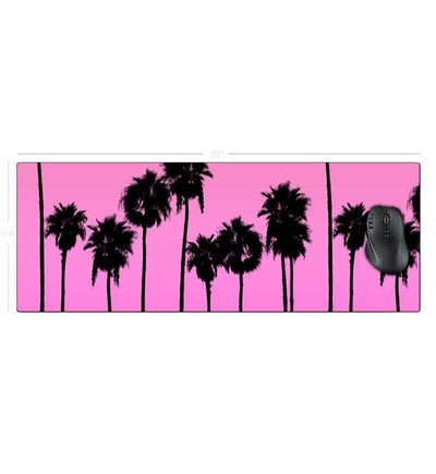 Palm AESTHETIC Desk Mat - Vaporwave Accessories - Product Photo
