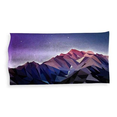 Poly Mountain Beach Towel