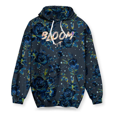 Holographic Flowers Hoodie