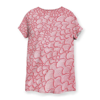 SCRIBBLEWAVE - Red Women's T-Shirt