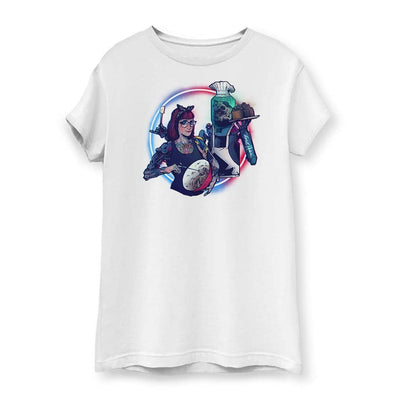 Cyber Pug Women's Cotton T-Shirt