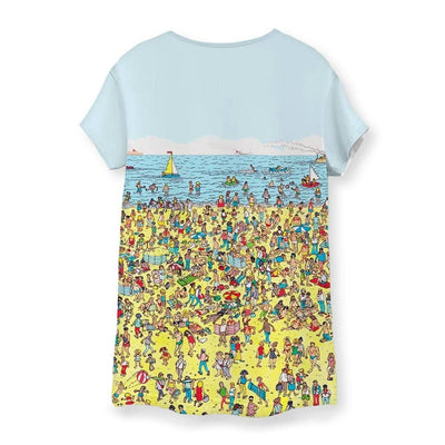 Beach Nostalgia Women's T-Shirt