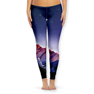 Poly Mountain Women's Leggings