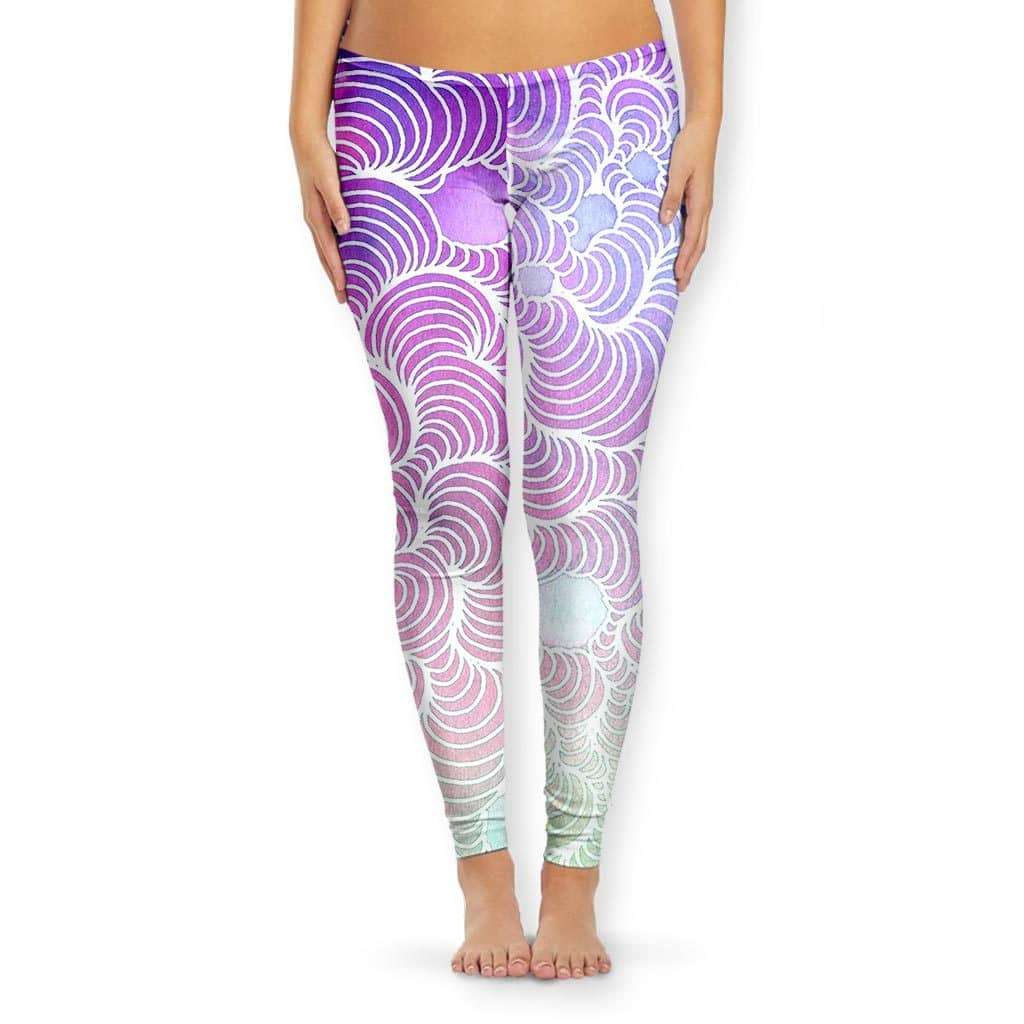Color Wash Women's Leggings