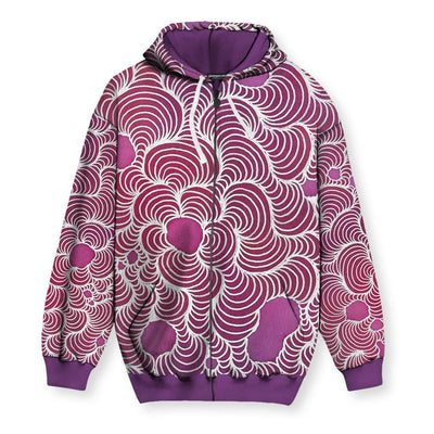Color Wash Original Men's Zip-Up Hoodie