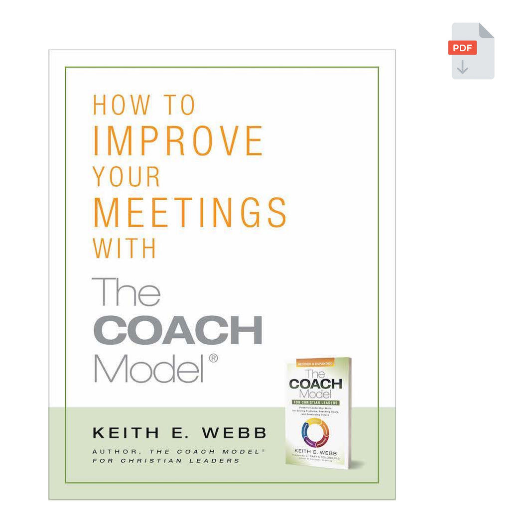 How to Improve Your Meetings with The COACH Model