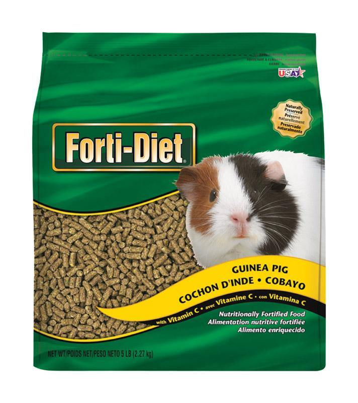 Kaytee  Forti-Diet  Natural  Pellets  Small Animal  Food  5 lb. - 4PawShop