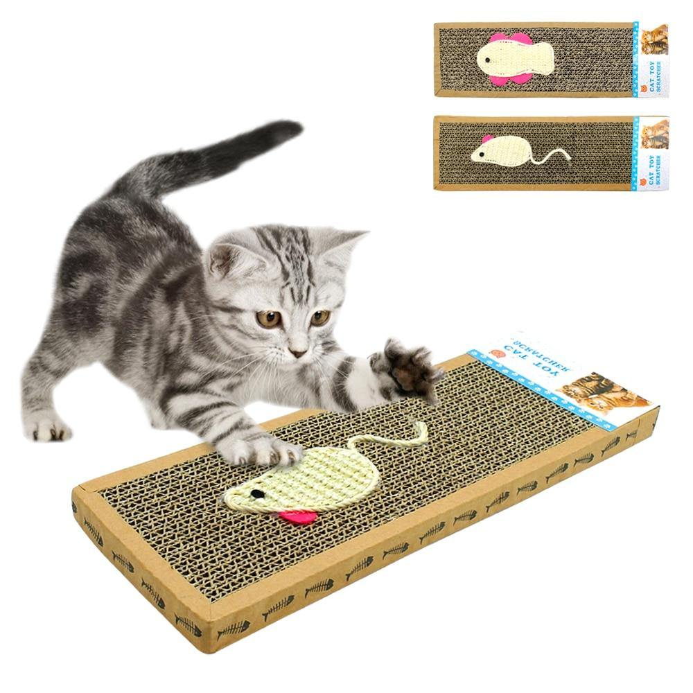 Cat Scratch Board Sisal Kitten Cats Scratching - 4PawShop