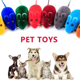 Cat Toys Plush Mouse Toy For Cats Soft Mouse - 4PawShop