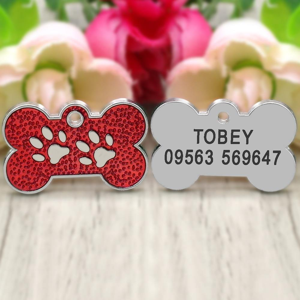 Personalized Dog ID Tags Stainless Steel - 4PawShop