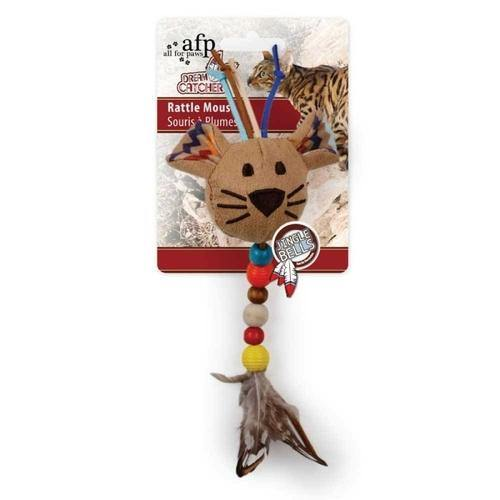 Catnip Cat Toys Dream Catcher Feather Bell Rattle Mouse Crinkle Play - 4PawShop