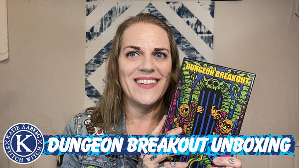 Dungeon Breakout Unboxing Video