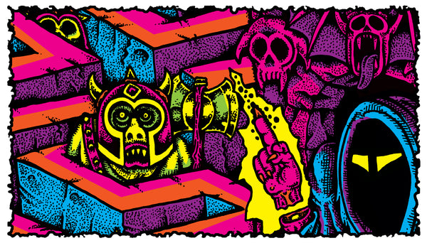 Acid Vomit - the Art of Sean Aaberg - Kickstarter Launch