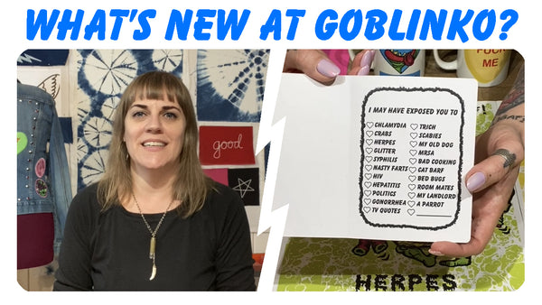 What's New At GOBLINKO?