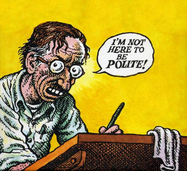 ROBERT CRUMB INTERVIEW: A COMPULSION TO REVEAL