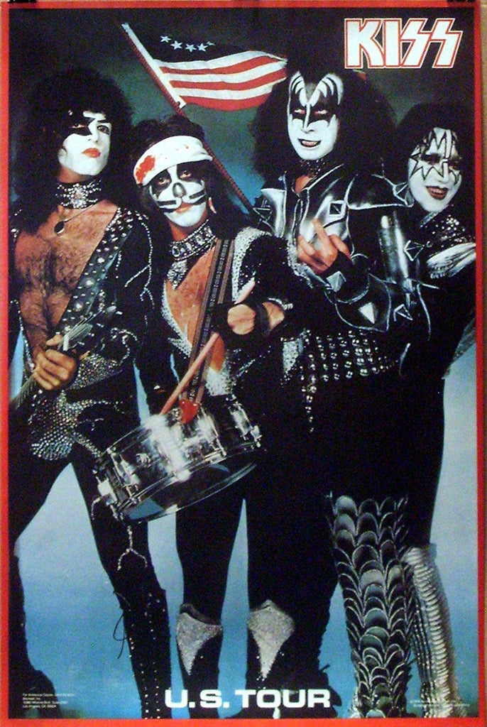 KISS 1976 US TOUR POSTER