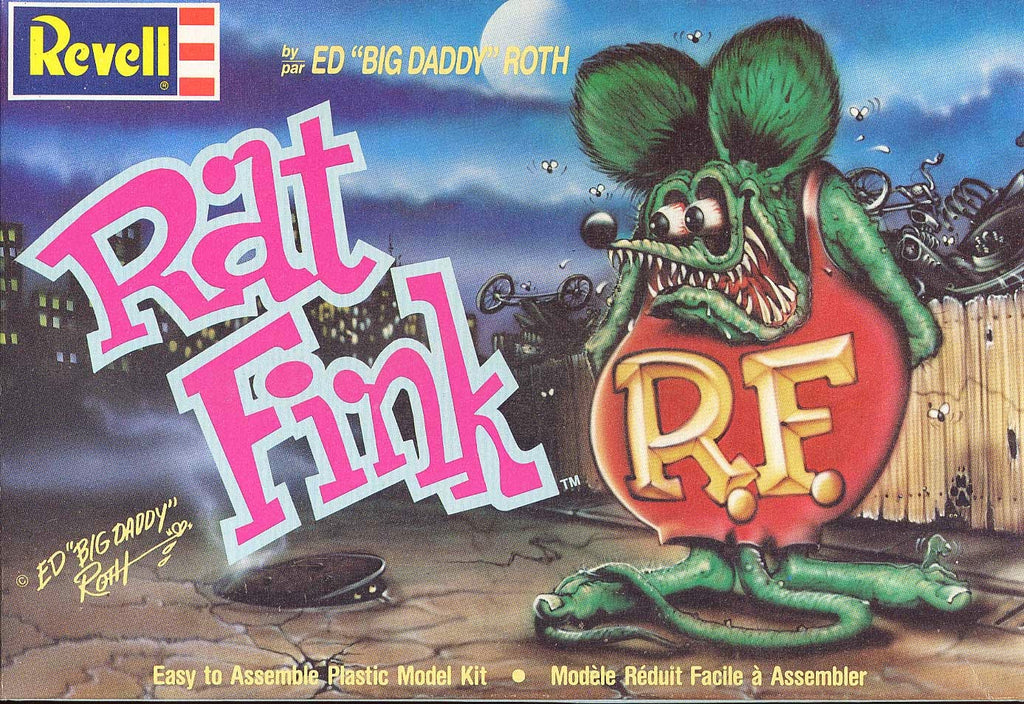 RAT FINK ED ROTH MODEL