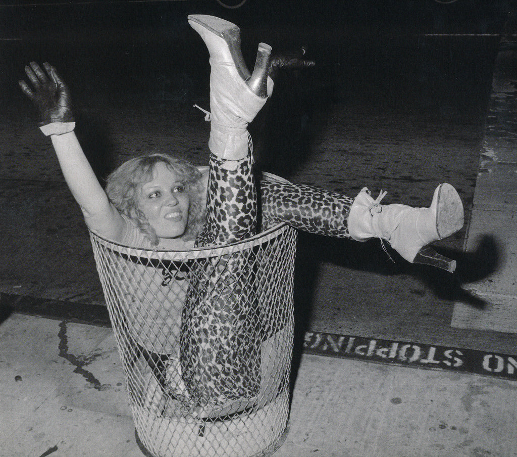 LORNA DOOM OF THE GERMS IN A TRASH CAN PUNK ROCK LA