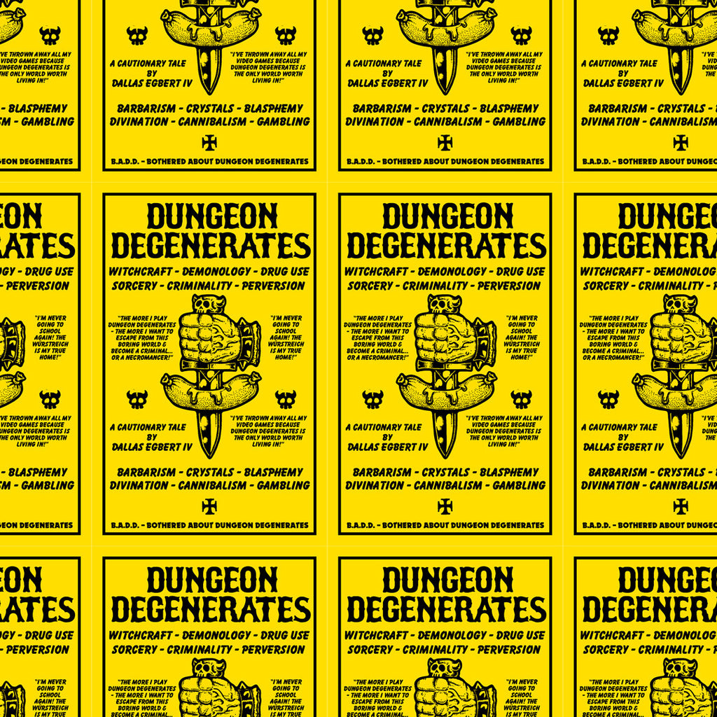 Bothered About Dungeon Degenerates Concerned Citizen Flyer Pack
