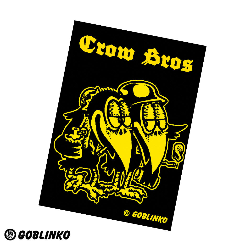 Goblinko Gang Sticker - Crow Bros