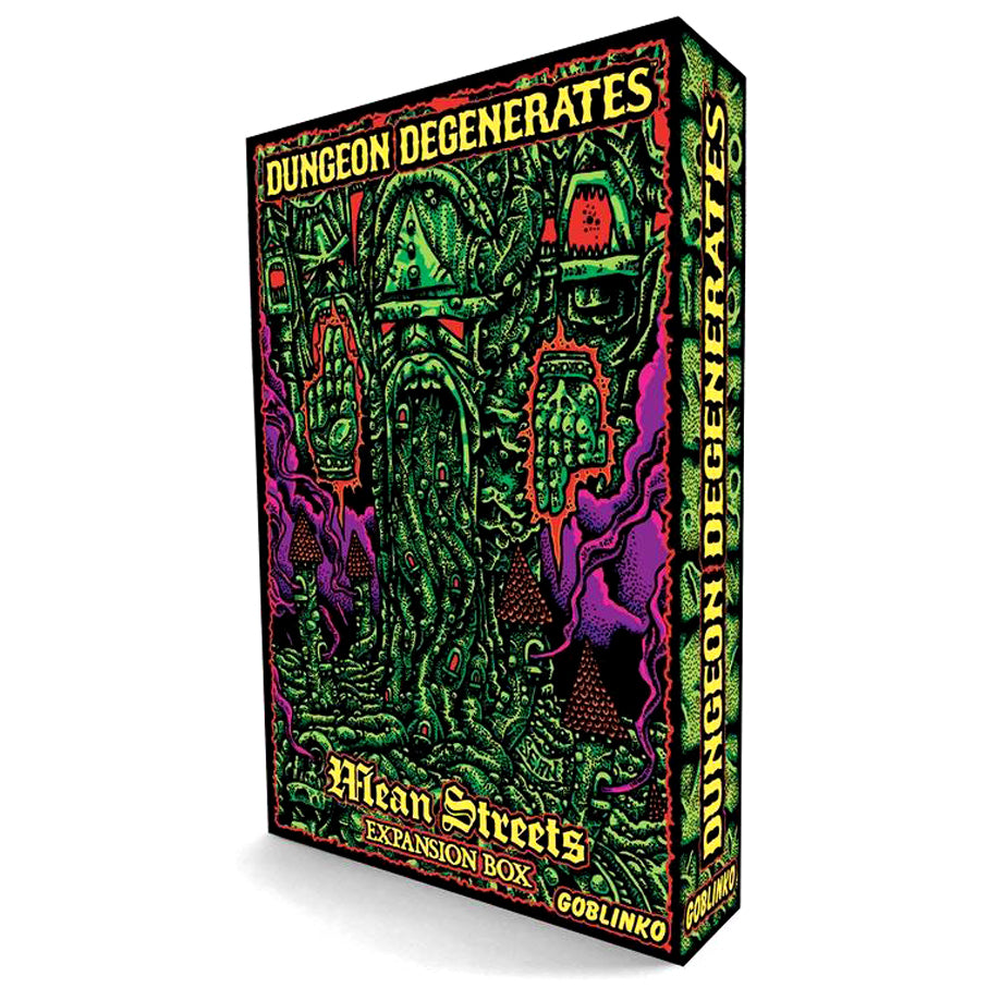 Dungeon Degenerates: Mean Streets Expansion Box