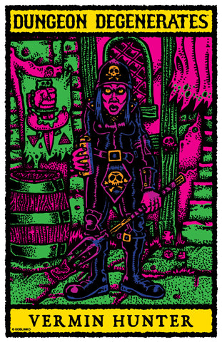 "Weird Witch by Sean Äaberg - 24"" x 36"" Big Poster"