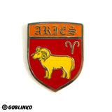 WHAT'S YOUR SIGN - ARIES - ENAMEL PIN