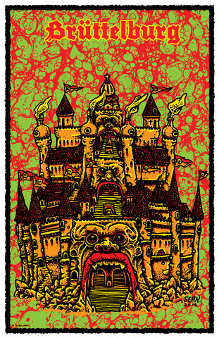 THE TEMPLE OF MADNESS - POSTER