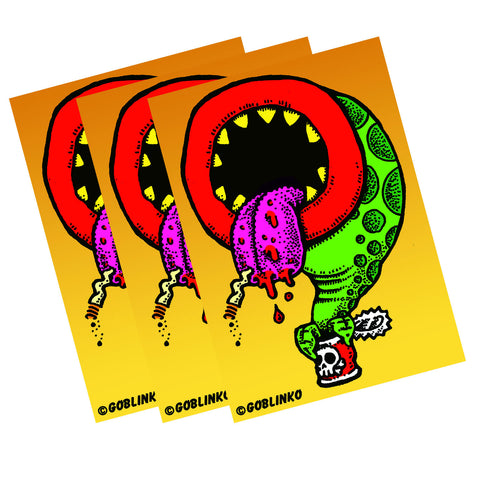 Mongo Vinyl Sticker