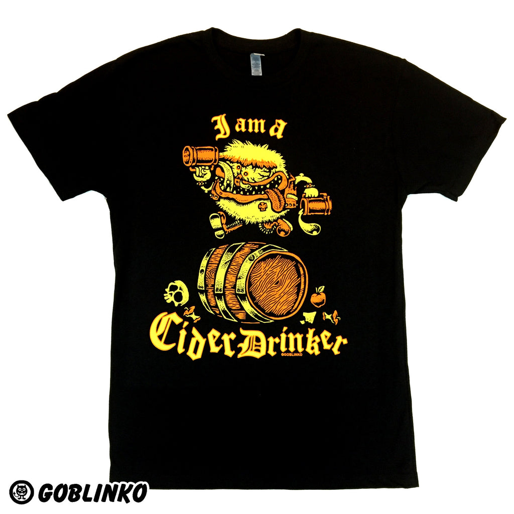 I AM A CIDER DRINKER T-SHIRT