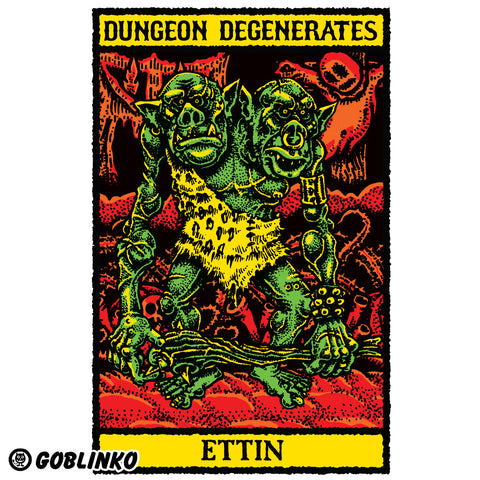 DUNGEON DEGENERATES POSTER SETS No. 1 & 2