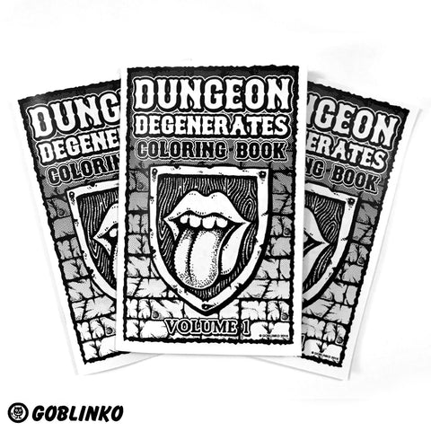 Dungeon Degenerates Poster - Brain Blisterer