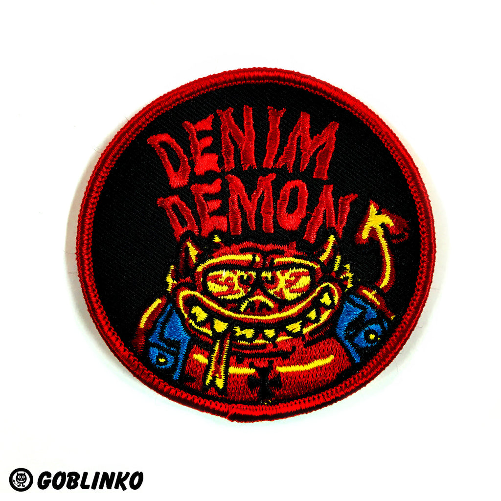 Denim Demon Patch