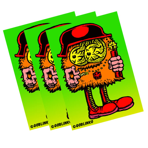 Dungeon Degenerates Sausage Stabber Die-Cut Vinyl Sticker