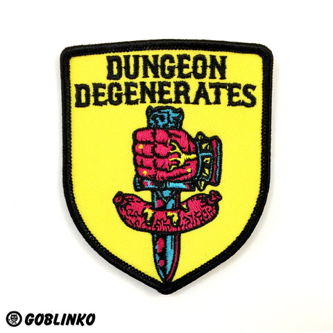 Dungeon Degenerates - Logo & Wurstreich Pin Set